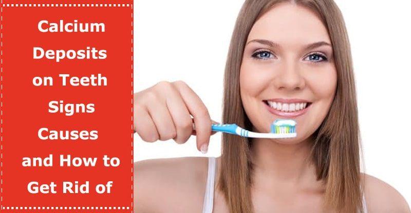 calcium deposits on teeth